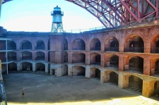 Inside Fort Point National Historic Site, Golden Gate Bridge