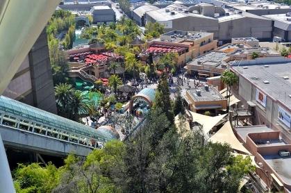 View of Universal Studios